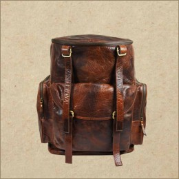 Leather Backpack - Rucksack