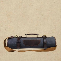 Chef Bag and Knife Case - Canvas Leather Knife Roll