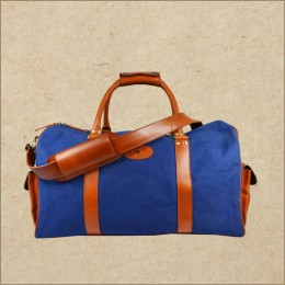 Canvas Weekender Bag - Overnight Travel Duffle Bag